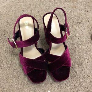 Bergundy Heels